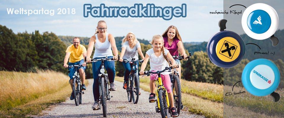 Weltspartag 2018 - Fahrradklingel