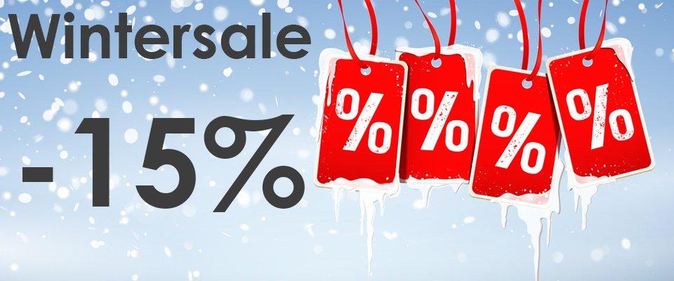 Wintersale -15%